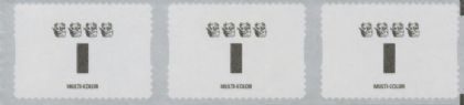 AUSTRALIA Reprint SG4489a Wildflowers 2015 Definitives self-adhesive strip of 3 - 4 Koalas